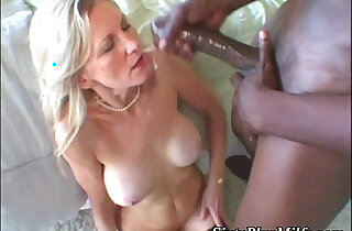 Black dong in white granny pussy - 6:49