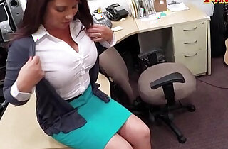 Big boobs Milf sells her husbands stuff for the bail - 6:14