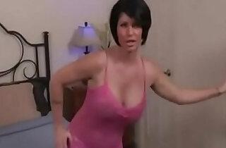 Stepmom catch stepson watching porn - 10:09