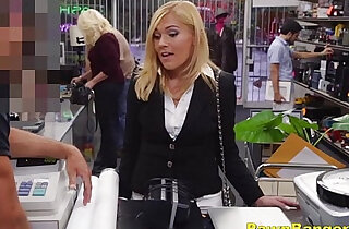 Classy Lady Turns Slutty For Cash - 8:13