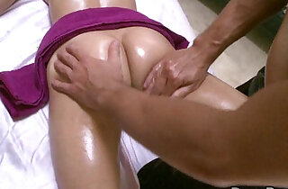 Hot Big Tit April Gets Lusty Massage - 5:53