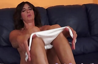 Euro granny cockriding and playing around with cum - 6:04