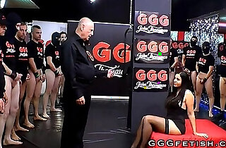 Sluts in extreme gangbang bukkakes orgies - 6:15