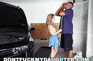 18yo Teen Lilly Ford Fucks Daddys Mechanic Friend - 13:31