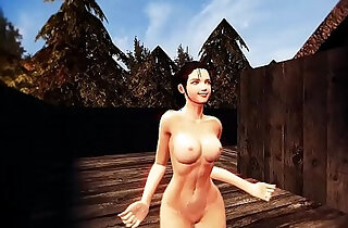 Vindictus Nude Patch Dance Music Video Evie, Vella, and a bit of Fiona - 4:17