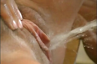 Spanish couple fucking and pissing in hot watersports action - 2:05