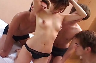 Tempting Japanese hottie moans during oral sex - 11:42