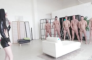 Incredible Video!! Super Model Crystal Greenvelle Double Anal GangBang - 2:40