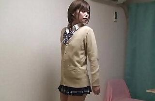 Japanese Schoolgirl Hikaru Undressing - 3:41