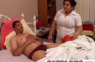 Bubbly big tits babe Karla is a naughty nurse - 23:21