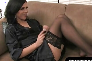 Sexy Black Lingerie Phone Sex - 8:13