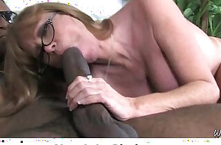 Just watching my mommy going black cock Interracial Sex - 5:40