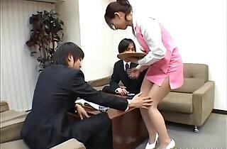 Yuuka Oosawa Office Girl - 8:53