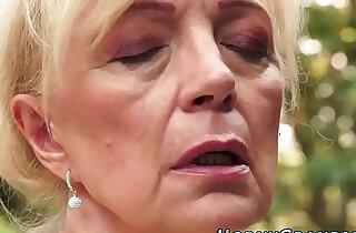 Jizz mouthed grandma blow - 7:09