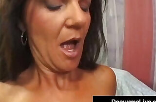 Texas Cougar Deauxma Squirts From Her Creaming Hot Pussy! - 8:55