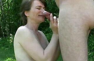 amateur french homemade outdoor fuck baise en exterieur soumise sandy - 14:13