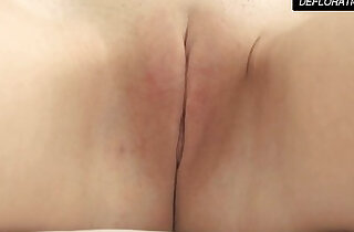 Dunja Kazimkina masturbating and showing pussy - 7:17