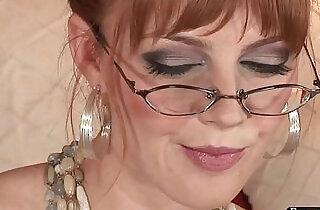 Marie McCray Solo solo, toy, masturbate, pornstar, hd, glasses - 13:17