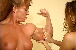 Sheila Burgess Muscle Domination - 4:24