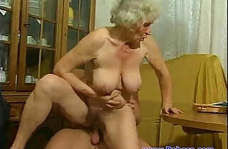 Granny fuck with young guy - 21:27