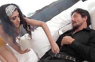 Cock Curious Latino Stepdaughter Sucks Sleeping Dads Big Penis - 8:34