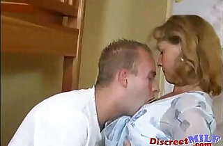 Horny mom and son fucking at home - 10:10