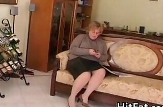 Fat And Horny Granny Wanting A Dick - 25:15
