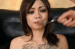 Asian slut Leilani Vega throated degraded - 10:23