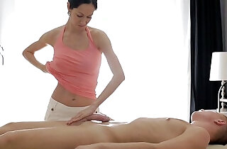 RubATeen Hot Russian Gives A Dick Massage - 8:04