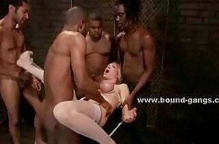Maids brutal group video scene - 4:55
