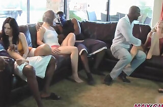 Cuckold wives in gangbang orgies bbc creampie - 17:43