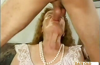 Freak of nature old ass granny - 13:07