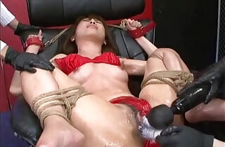 Japanese Bondage Sex Extreme BDSM Punishment of Asari Pt. - 5:09