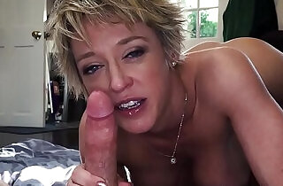 Blowjob and ballsucking by religious Mom - 9:44