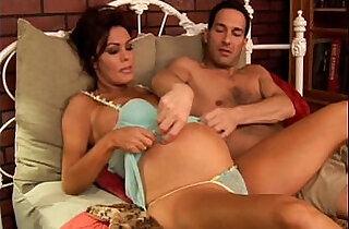 Pregnant mature pornstar Nancy Vee is a hot fuck - 23:54