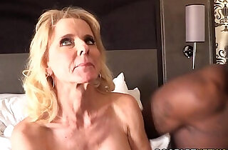 Cammille Gets Her Cougar Pussy Banged By Black Guys - 10:24