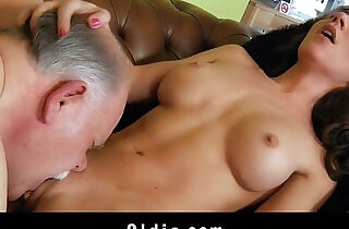 Old butler serve sex to his spoiled lady boss - 6:30