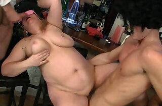 Hot bar orgy with plump bitches - 6:59