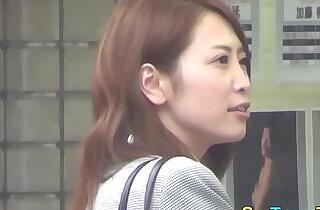 Japanese babe rubs - 10:54