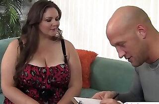 Giant BBW Joslyn underwood gets her pierced pussy slammed - 8:21