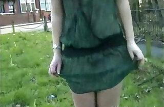 Welsh blonde nude Loz Lorrimars public masturbation and wild outdoor flashing - 6:56