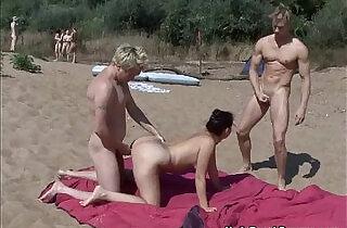 Nude beach swingers - 5:45