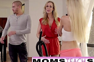 Moms Teach Sex Big tit mom catches daughter - 11:46