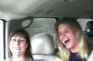 Sisters fucking on camera for a ride to Mardi Gras - 49:16