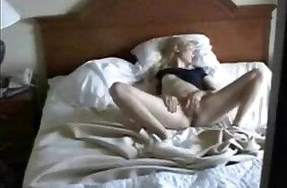 Cute mom masturbating caught by nasty son. Hidden cam - 2:30