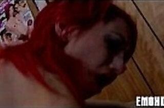 Goth emo angel with tattoos - 5:24
